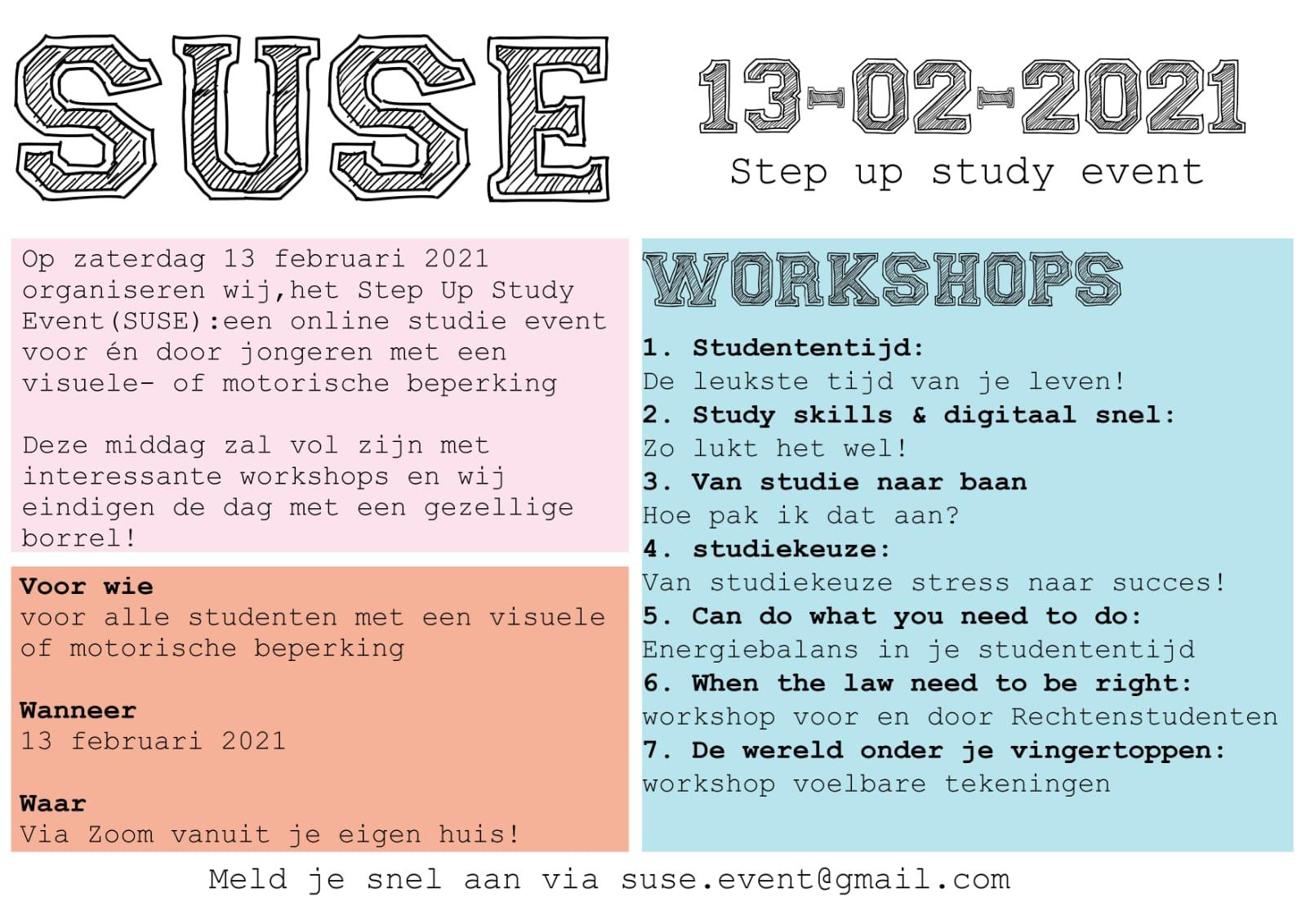 step up study event